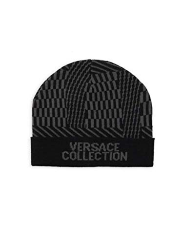 - Versace Collection Intarsia Beanie