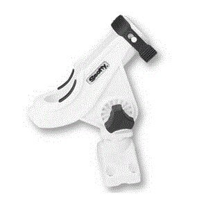 Scotty Baitcaster/ Spinning Rod Holder with 241 Side Deck Mount (White), Outdoor Stuffs