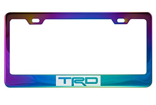 TRD Neo Chrome License Plate Frame