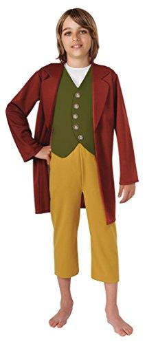 Hobbit Halloween Costumes (The Hobbit Bilbo Baggins Costume - Large)