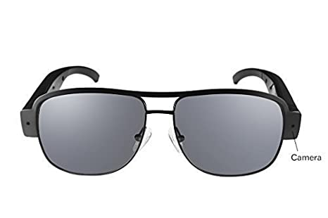 600734f5fc Image Unavailable. Image not available for. Color  Ugetde HD 1080P Glasses  Spy Camera Sunglass DVR Video Recorder Eyewear Hidden Sport DV Cam
