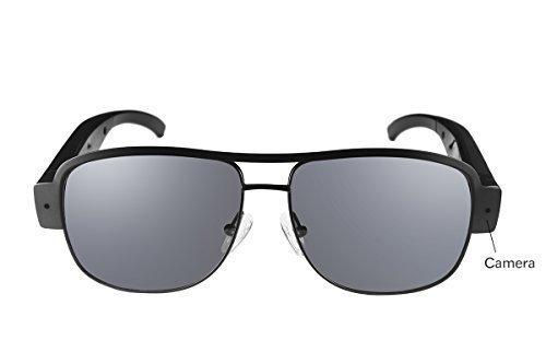 Ugetde HD 1080P Glasses Spy Camera Sunglass DVR Video Recorder Eyewear Hidden Sport DV Cam