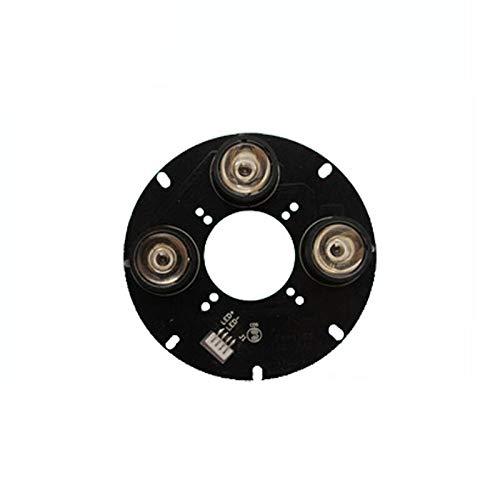 Jammas 10X High Power 850nm 12V Input IR LED Infrared LED lamp Board(90mm) for CCTV Camera