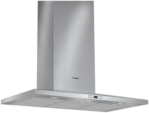Bosch DWW098E50 - Campana (Canalizado/Recirculación, 890 m³/h, 55 Db, Montado en pared, LED, Acero inoxidable): Amazon.es: Hogar