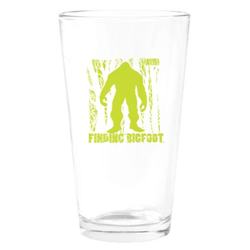 Finding Bigfoot Forest Drinking Glass