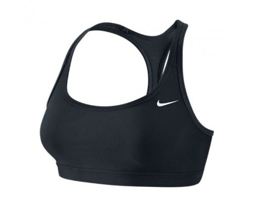 Nike - Sujetador Deportivo para Mujer, tamaño L, Color Negro ...