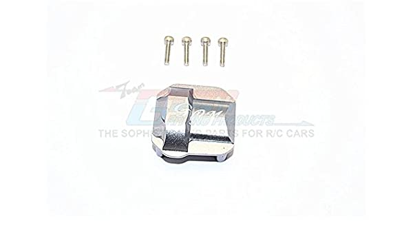 AX90046, AX90047, AXI90075 Axial SCX10 II Upgrade Parts 1Pc Set Gray Silver Aluminum Front//Rear Differential Cover