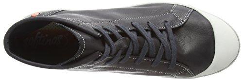 Kip405sof Softinos Altas Black Zapatillas 008 para Negro Mujer g1qH1anP