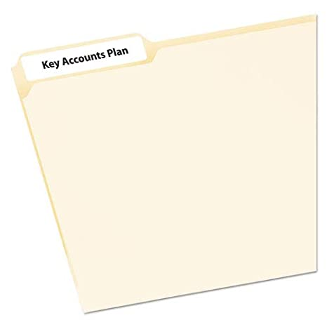 Amazon Avery File Folder Labels On Mini Sheets Office Products