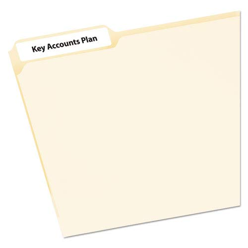 Avery Mini-Sheet Laser/Inkjet Asstd. Filing Labels