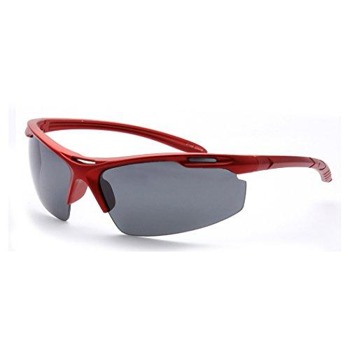 MLC Eyewear Half Framed Outdoors Sports Sunglasses - Framed Glasses Half
