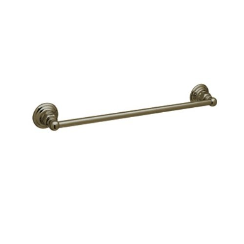 Rohl ROT1/18TCB 18-Inch Country Bath Single Towel Bar in Tuscan Brass