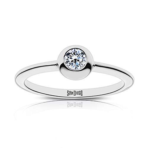 Bixler San Diego Padres San Diego Engraved Diamond Ring by Bixler