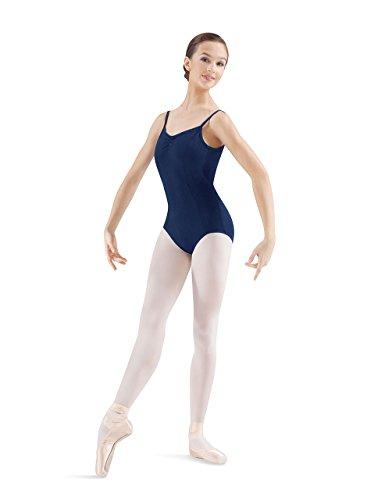 Mirella Women's Princess Seam Pinch Front Camisole Dance Leotard