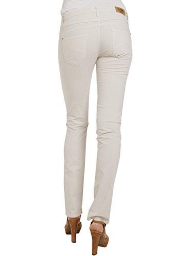 Di Tessuto Pantalone Donna It Per Tinta Jeans Unita Carrera 42 Popeline AZHWncA