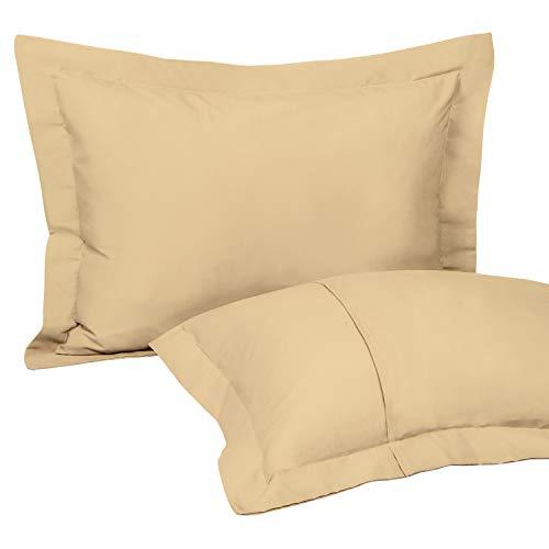 NTBAY Standard Pillow Shams, Set of 2,