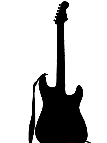 Home Comforts LAMINATED POSTER Electric Guitar Illustrations