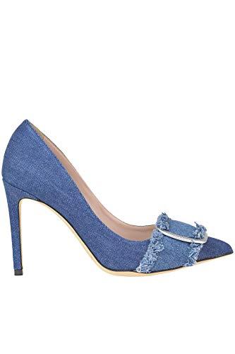 Scarpe alte in denim Donna blu Alberto Mcglcat000005223e Gozzi qWxZAzt6