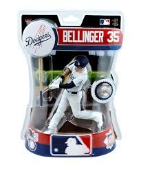 Imports Dragon Cody Bellinger Los Angeles Dodgers Figure - Dodgers Mlb Clubhouse