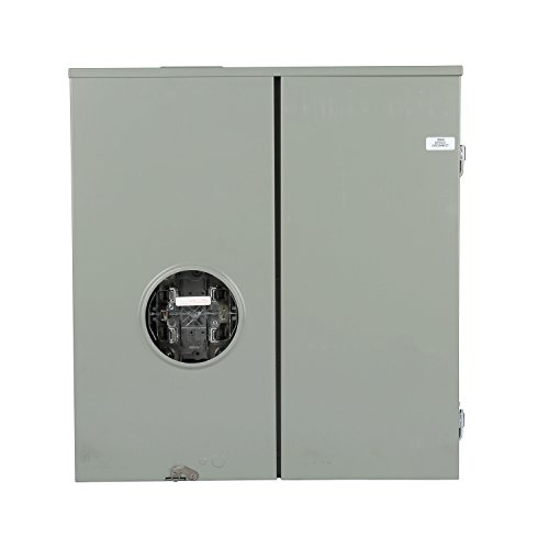 Breaker Meter Panel (Siemens MM0404L1400RLM 400-Amp Levery Bypass Meter Main Combination with and Ringless Cover)