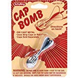 Unbranded Cap Bomb Rocket Metal Toy Grenade Paper/Plastic Gun caps BOY Stocking Stuffer