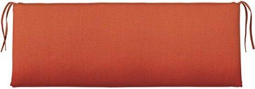 """Bullnose Rectangular Outdoor Bench Cushion, 2""""Hx48""""Wx18""""D, M"""