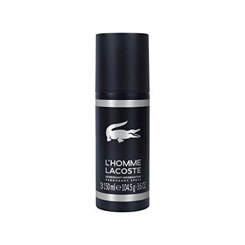 - Lacoste L'homme Eau de Toilette Deodorant Spray, 3.6 oz.