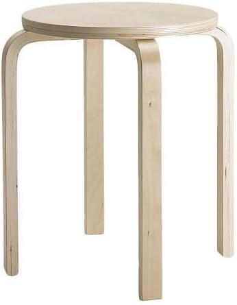 IKEA Frosta tabouret de bouleaux contreplaqué; empilable; 10 Pièce Tabouret