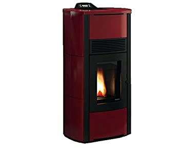 estufa de pellets Palazzetti Ecofire Camilla Idro 15 KW=125 M2: Amazon.es: Hogar