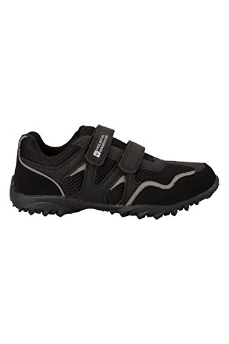 Confortable Scratch Basses Eva Noir Mountain Chaussures Mars Warehouse Enfants Fermeture semalle Baskets OBaBCHXfWq