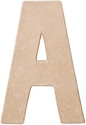 6 Pack Darice Paper Mache Letter P 8 X 5.5 Inches