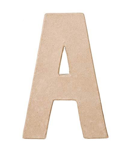 Darice Paper Mache Letter  A  8 x 55 x 1 inches
