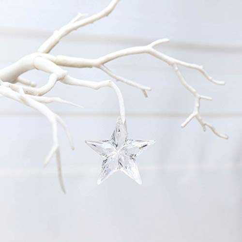 Efavormart 160 PCS Acrylic Crystal Garland Hanging Wedding Party Decoration Star ()