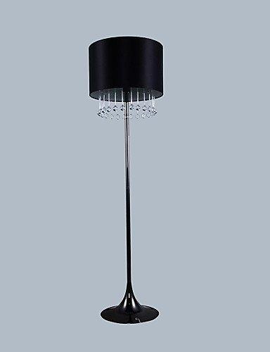 prezzi bassissimi DXZMBDM® Moderna lampada lampada lampada da terra nera con Gocce in Vetro di Decoration , 220-240v  economico e alla moda