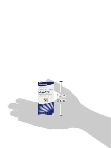 Bausch & Lomb Pharmaceuticals Muro 128, 5 Percent Solution, (15 mL), 0.5 oz. by Bausch & Lomb (Image #3)