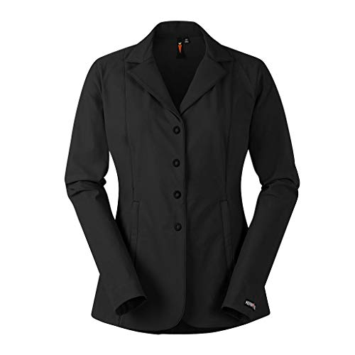 Kerrits Stretch Competitor Koat 4-Snap Black Size: Large