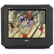 (RCA 14F514T 14 Flat-Tube TV w/ Digital Tuner