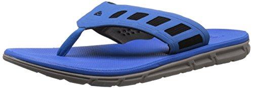 Quiksilver Men's AG47 Flux Sandal, Blue/Black/Grey, 10 M US