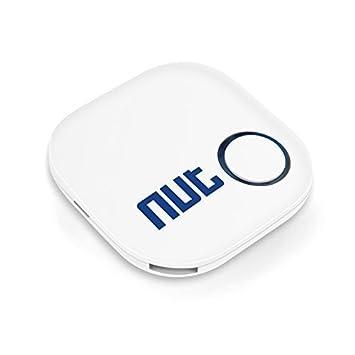 NUT Mini Anti-perdida Bluetooth Rastreador de llave inteligente Localizador Buscador (Blanco)