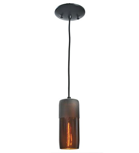 Meyda Tiffany 99430 Venice Wine Bottle Mini Pendant Light Fixture, 3
