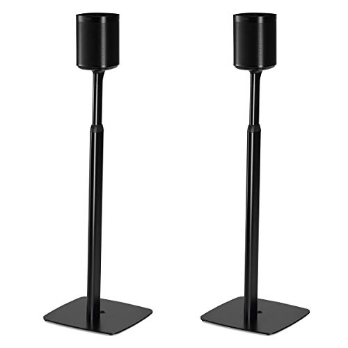 Flexson Adjustable Floorstands for Sonos One or Play:1 - Pair ()