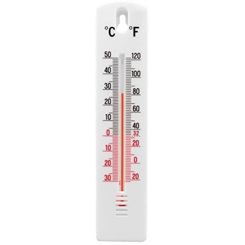 Indoor Outdoor Wall Hung Temperature Thermometer For Home Office Greenhouse