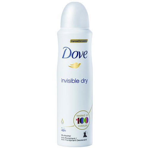(12 PACK) DOVE Dry Spray Antiperspirant 48 hours, (Invisible Dry) 5oz