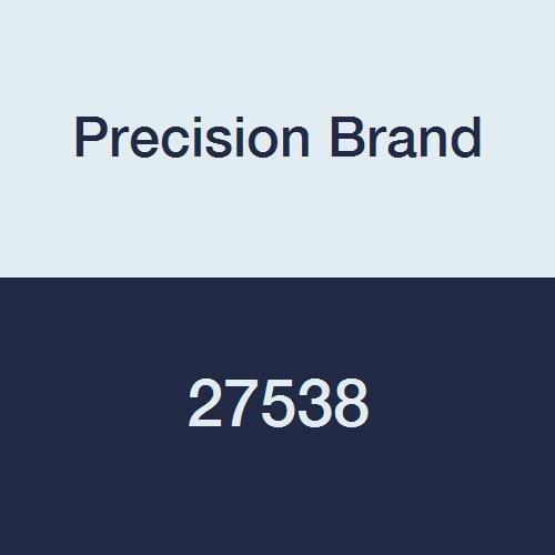 Precision Brand 27538 Threaded Rod, Plain Oil Finish, 72'' Length, National Fine 1-3/8-12 Thread, Low Carbon Steel