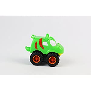 BOLEY (12-Piece) Friction Powered Pull Back Racing Monster Jam Trucks and Cars - Great Stocking Stuffers and Party Favors