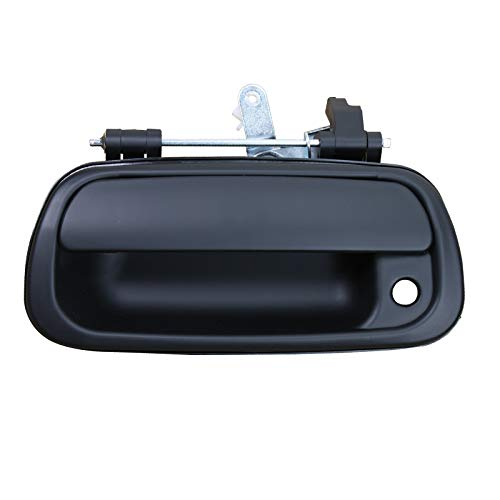(Exterior Tailgate Door Handle with Keyhole for 2000-2006 Toyota Tundra Pickup Replace # 69090-0C010 69090-0C030-C0)