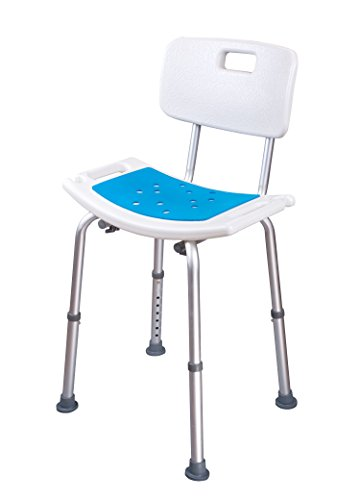 Medokare Shower Chair With Padded Seat Shower Seat For