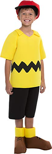 Charlie Brown Boys Costume Size 8/10 -