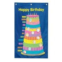 Amazon Com Classroom Birthday Cake Chart Toys Games