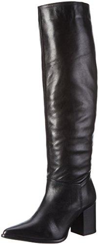 BIANCO Dressy Tube Boot Son16, Stivali Alti con Imbottitura Leggera Donna Nero (Schwarz (Black/10))